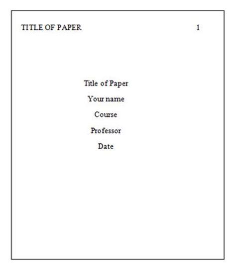 Turabian research paper format sample